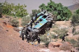 პერუში ავტობუსის ავარიას 44 ადამიანი ემსხვერპლა