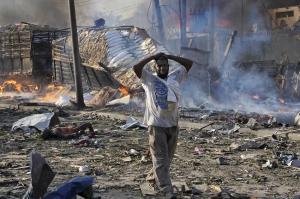 სომალის დედაქალაქში მომხდარ ტერაქტს 276 ადამიანი ემსხვერპლა