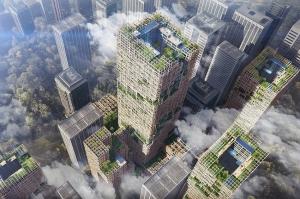 იაპონიაში მსოფლიოს ყველაზე მაღალი ხის ცათამბჯენი აშენდება