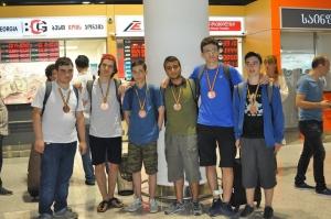 მოსწავლეთა გუნდმა მათემატიკის საერთაშორისო ოლიმპიადაზე მედლები მოიპოვა