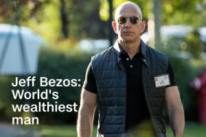 ჯეფ ბეზოსი პლანეტის უმდიდრესი ადამიანია