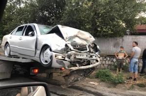 ავარიის შედეგად გურჯაანში ერთი ადამიანი დაიღუპა, სამი დაშავდა