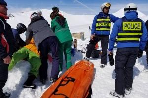 გუდაურში საბაგიროზე მომხდარი ავარიის გამო 10 ადამიანი დაშავდა