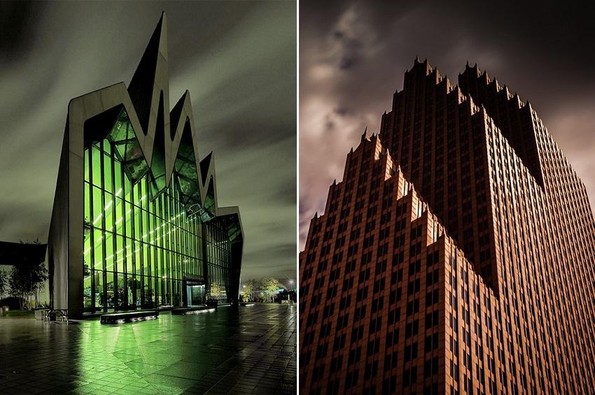 შენობები, რომლებიც ბოროტი პერსონაჟების შტაბ-ბინებს ჰგავს