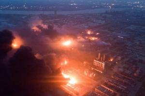 ჩინეთის ქიმიურ ქარხანაში აფეთქებას 47 ადამიანი ემსხვერპლა