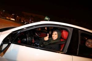 საუდის არაბეთში ქალებს ავტომობილის მართვის უფლება მიენიჭათ