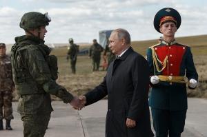 """""""რუსეთი მშვიდობისმოყვარე ქვეყანაა"""" - ვლადიმერ პუტინი"""