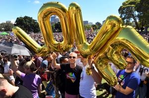 ავსტრალიელებმა ერთნაირი სქესის ადამიანების ქორწინებას მხარი დაუჭირეს