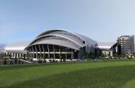ბათუმში 3 400 მაყურებელზე გათვლილი სპორტული კომპლექსი აშენდება