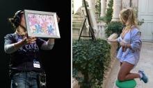 ბრიტნი სპირსის ნახატი აუქციონზე 10 ათას დოლარად გაიყიდა