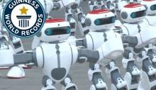 ჩინეთში 1069 რობოტის ერთდროული ცეკვით გინესის რეკორდი დაფიქსირდა [Video]