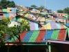 ინდონეზიის მთავრობამ ღატაკი სოფლის სახლები ფერადად მოხატა