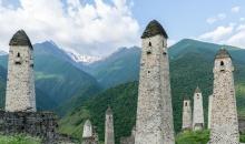 ინგუშეთის მემკვიდრეობა – უძველესი კოშკები, ქისტიანული ტაძარი და საძვალეები