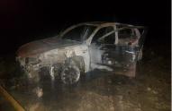 თიანეთი-ჟინვალის გზაზე მეჭიაურის შტაბიდან გასული დამკვირვებლების მანქანა დაიწვა
