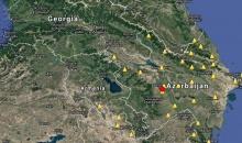 აზერბაიჯანში 5.1 მაგნიტუდის სიმძლავრის მიწისძვრა მოხდა