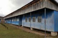 სოფელ ჩანახჩში სკოლა ვაგონებშია განთავსებული