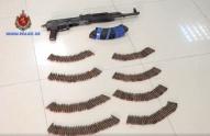 იარაღის და საბრძოლო მასალის უკანონო შეძენა-შენახვის ბრალდებით ერთი პირი დააკავეს