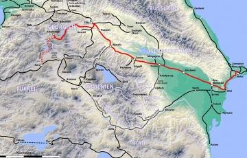 ბაქო-თბილისი-ყარსის რკინიგზა სექტემბერში გაიხსნება