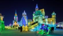 ყინულის სკულპტურების ფესტივალი ჩინეთში